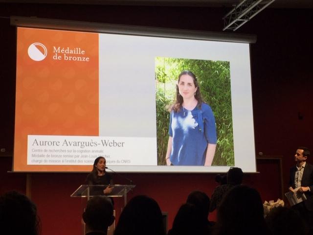 Félicitations à Aurore Avarguès-Weber !